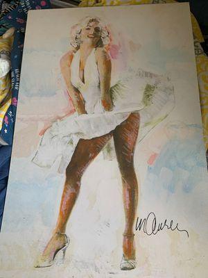 Marilyn Monroe portrait for Sale in Fort Lauderdale, FL