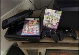 XBox 360 with Kinect for Sale in Barnegat Township, NJ