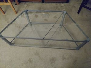 Glass entertainment center for Sale in Federal Way, WA