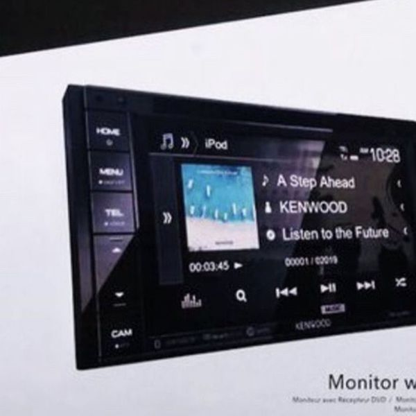 "Kenwood DDX26BT 6.2"" In-Dash Double Din Touchscreen DVD CD Bluetooth USB AM/FM SiriusXM Ready, MP3 ID3 Tag Display Car Stereo Receiver"