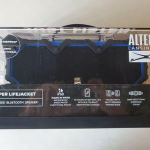 $85 ALTEC LANSING SUPER LIFEJACKET BLUETOOTH SPEAKER for Sale in Las Vegas, NV