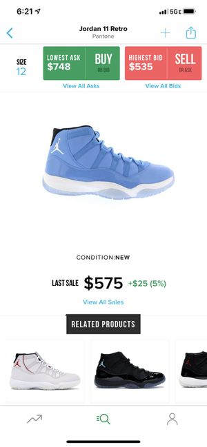 Jordan 11 Pantone size 13 for Sale in Taylor, MI