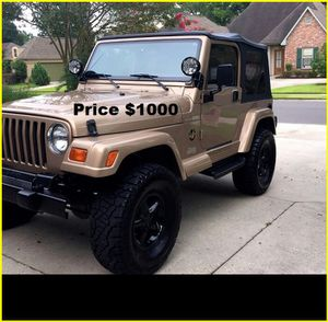 ֆ1OOO_1999 Jeep Wrengler for Sale in San Jose, CA