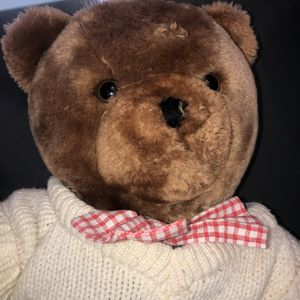 Valentines Teddy Bear in Sweater Plush for Sale in Wilmington, OH