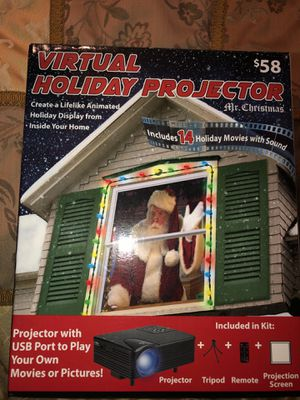 Virtual Holiday projector for Sale in West Palm Beach, FL