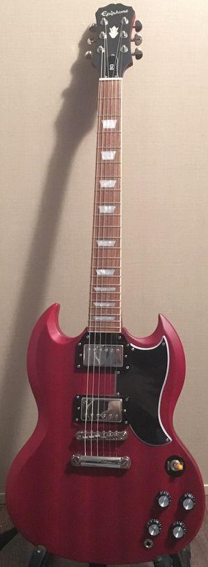 Epiphone Vintage G-400 Electric Guitar Worn Cherry for Sale in Lumberton, TX