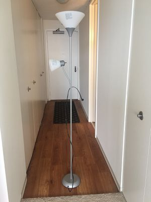 Floor Stand Lamp with 2 heads for Sale in Chicago, IL