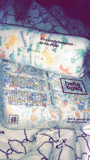 94 hello bello diapers Newborn for Sale in Aurora, IL