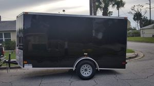 2019 Enclosed trailer 6x12 with ramp for Sale in Orlando, FL