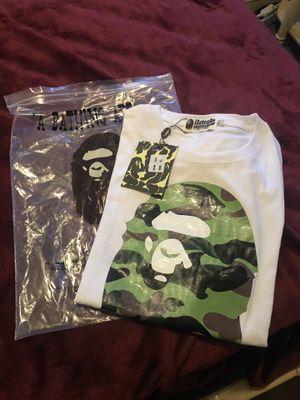 Bape Shirt 100%Authentic for Sale in El Monte, CA
