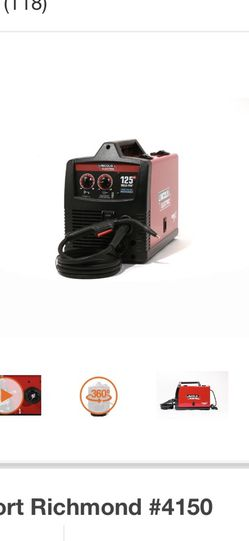 Lincoln Electric 125 Amp Weld-Pak 125 HD Flux-Cored Welder with Magnum 100L Gun, Flux-Cored Wire, 115V for Sale in Philadelphia,  PA