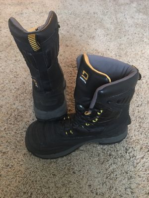 Work compound toe boots size 8. T-MAX 400 insulation for Sale in Industry, PA