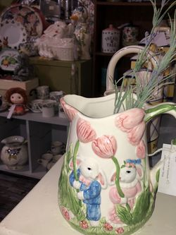 Easter Decorative Pitcher for Sale in Gastonia,  NC