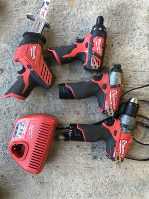 Milwaukee m12 tools for Sale in Saint Leon, IN