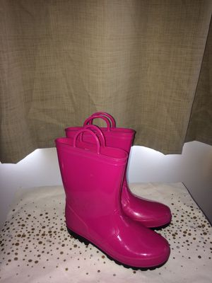 Kids rain boots size 2 for Sale in Canal Winchester, OH
