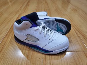 Nike Air Jordan Retro 5 V Toddler size 10C Grape off white cactus jack supreme for Sale in Rosemead, CA