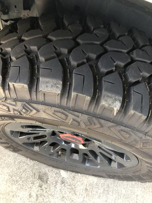 Trd wheels and tires 17inch for Sale in Sacramento, CA