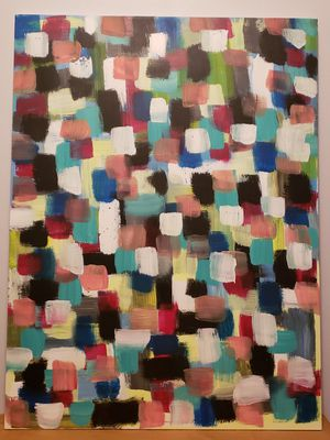 Art painting acrylic canvas for Sale in Chicago, IL