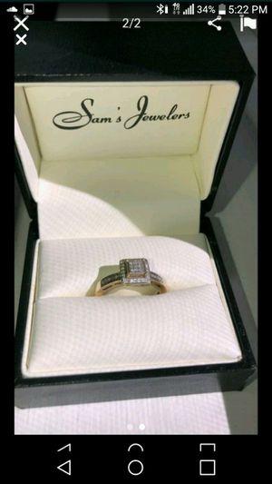 10k Diamond ring for Sale in Stockton, CA