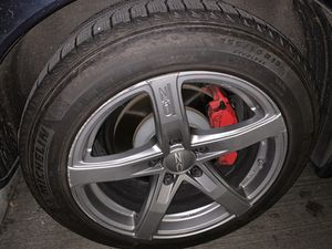 Michelin winter tires and 19 inch OZ wheels for Sale in Seattle, WA