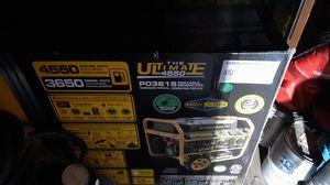 The ultimate 4550 electric portable generator. for Sale in Auburn, WA