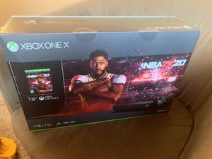 Brand New XBOX one X, 1TB with nba 2k20, never been opened for Sale in Fremont, CA