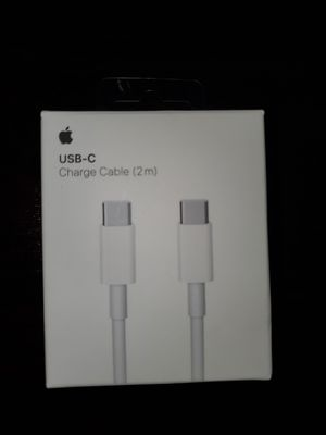 USB -C charger cable (2m) original APPLE for Sale in Long Beach, CA