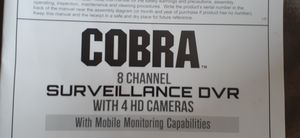 Cobra surveillance DVR and 2 working cameras 1 dummy that can work. for Sale in Canonsburg, PA