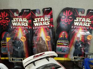 Star Wars episode 1 action figures new in box for Sale in Austin, TX