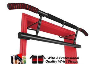 Like New Pull Up Bar Doorway with Ergonomic Grip - Fitness Chin-Up Frame for Home Gym Exercise - 2 Replaceable Accessories - 2 Professional Quality W for Sale in Hayward, CA