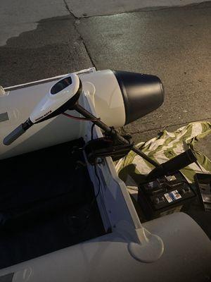 Minn Kota trolling motor with Interstate marine battery for Sale in Seal Beach, CA