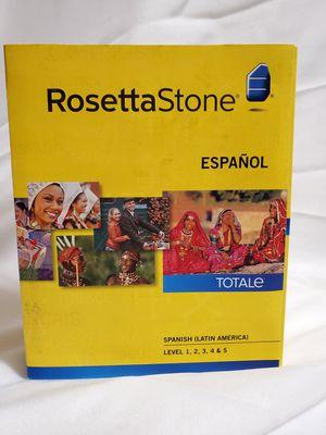 Rosetta Stone Espanol Spanish Totale 1 to 5 for Sale in Coconut Creek, FL