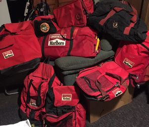 Marlboro adventure team gear, will sell items separately. for Sale in South San Francisco, CA
