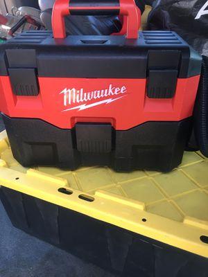 Milwaukee vacuum m18 for Sale in San Jose, CA