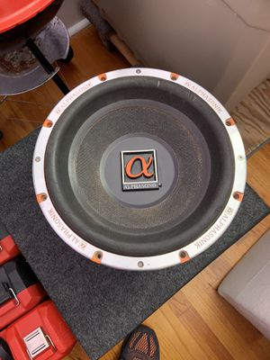 Alphasonic Model PSW612J Subwoofer for Sale in West New York, NJ