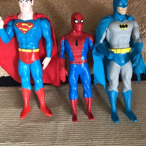 "Super Hero's - 15"" Tall for Sale in Upland, CA"