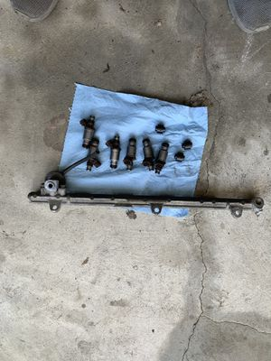 2jz Toyota Supra fuel rail with injectors and regulator for Sale in South River, NJ