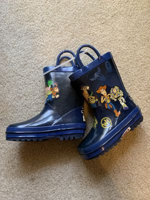 Toy Story Kids/Toddlers Rain Boots Size 6/7 OR Size 4/5 for Sale in Rancho Cucamonga, CA