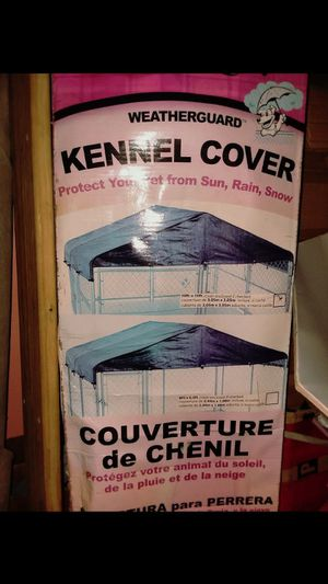 Dog kennel cover 10 x 10 for Sale in Batavia, OH