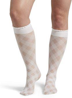 HUE Women's Sheer Knee Hi Socks, White for Sale in Norfolk,  VA