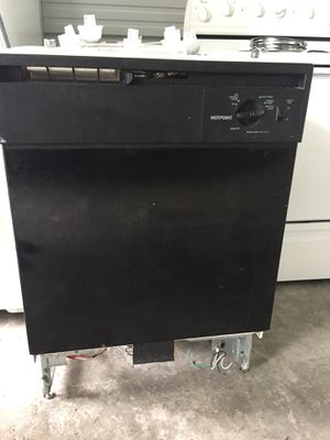 Black dishwasher for Sale in Tacoma, WA