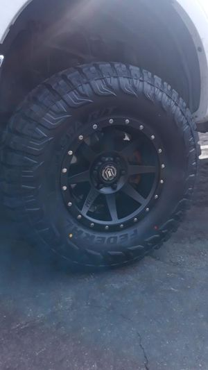 17 inch icon Wheels and tires brand new 6 lug for Sale in Rancho Cucamonga, CA