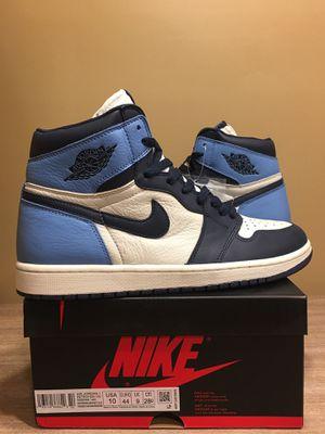 Jordan 1 Obsidian/University Blue (Size 10) for Sale in Rock Falls, IL