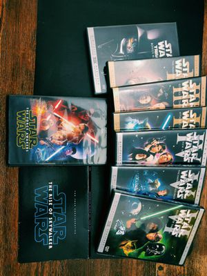 Star Wars DVDs! Episodes 1-6, Force Awakens + Rise of Skywalker for Sale in Los Angeles, CA