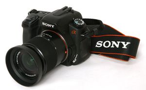 Sony A350 Digital SLR Camera Kit with Sony Pro HVL-F42AM Flash Unit for Sale in St. Petersburg, FL