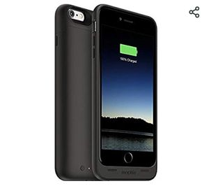 mophie juice pack - Protective Battery Case for iPhone 6 Plus / 6s Plus (2,600mAh) - Black for Sale in Silver Spring, MD