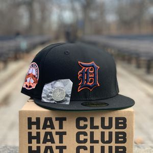 HAT CLUB EXCLUSIVE DETROIT TIGERS, BLACK DOME COLLECTION (SIZE: 71/4) for Sale in Brooklyn, NY