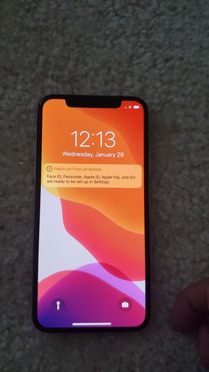 iPhone x 256gb unlocked mint for Sale in Manassas, VA