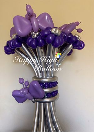 Balloon flowers Bouquet for Sale in Chino Hills, CA