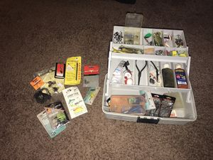 Fish Tackle Box for Sale in Menifee, CA